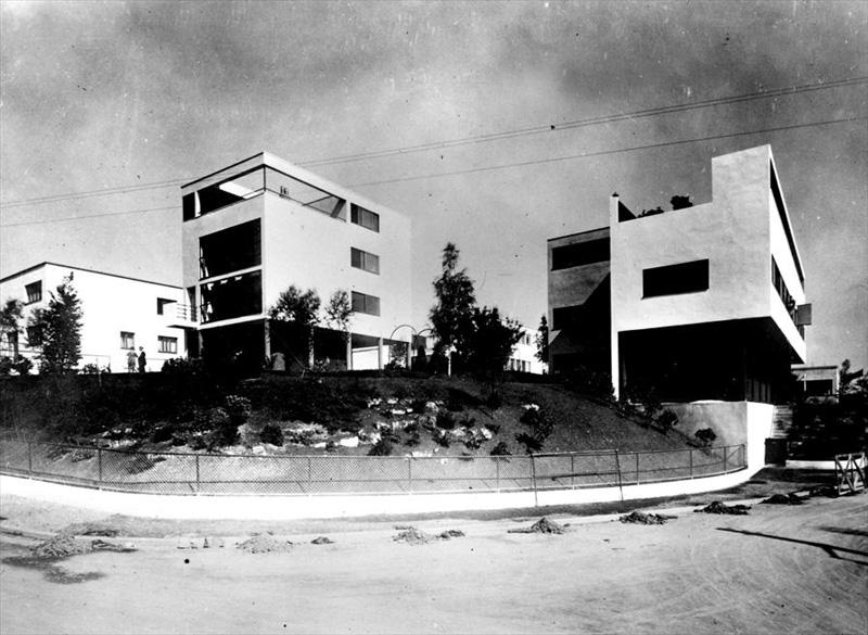 Maisons weissenhof siedlung for Villas weissenhofsiedlung