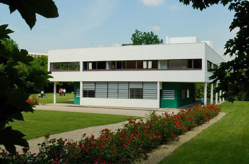 Ле Корбюзье / Le Corbusier. Вилла Савой (Villa Savoye), Пуасси (Poissy-sur-Seine), Франция. 1928-1931