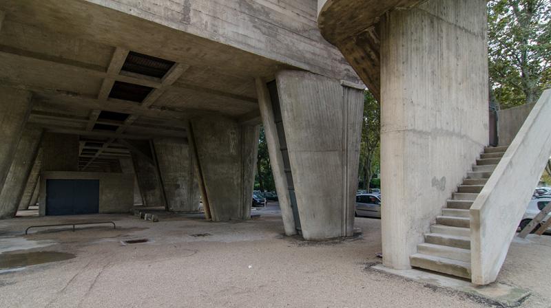 Ле Корбюзье / Le Corbusier. Жилая единица (Unité d'Habitation), Марсель, Франция. 1945-1952