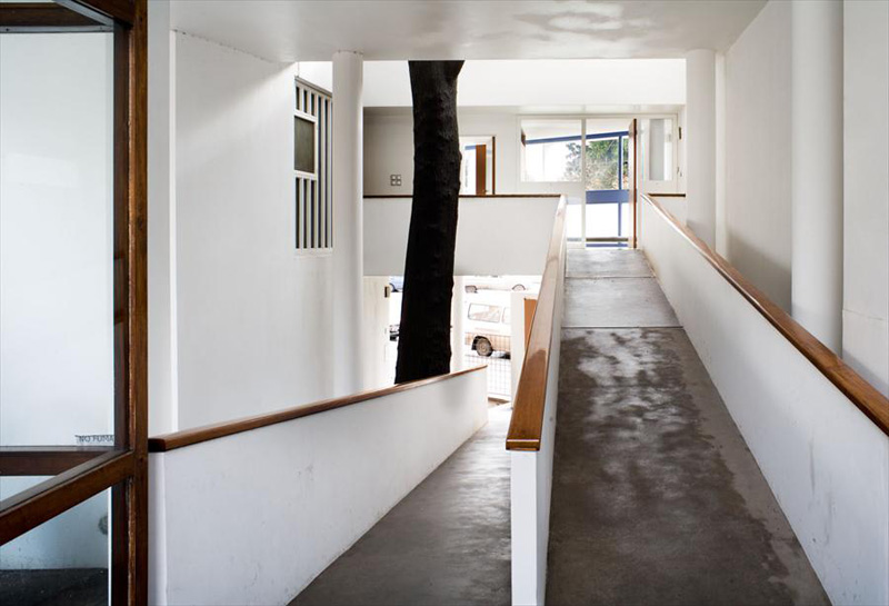 Ле Корбюзье / Le Corbusier. Дом доктора Куручет (Maison du Docteur Curutchet), La Plata, Аргентина. 1949