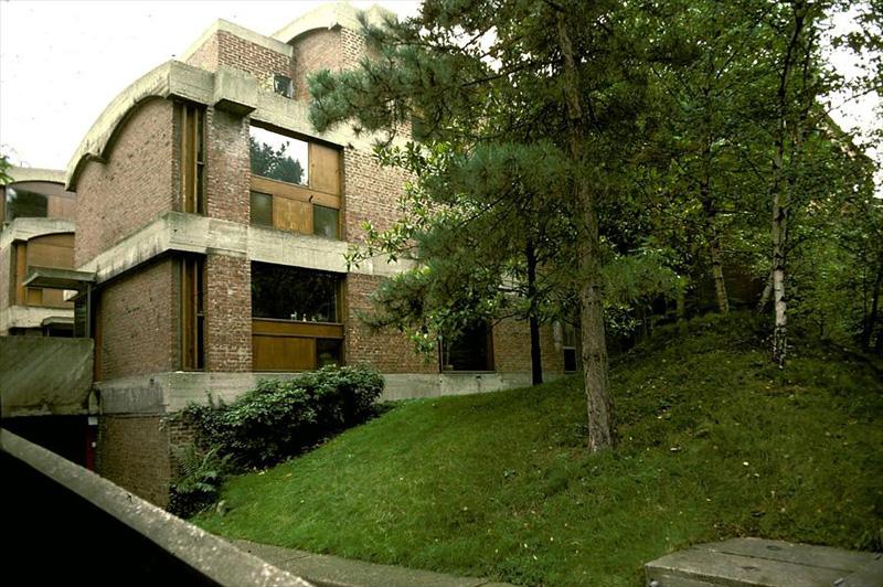Ле Корбюзье / Le Corbusier. Дома Jaoul, Neuilly-sur-Seine, Франция. 1951
