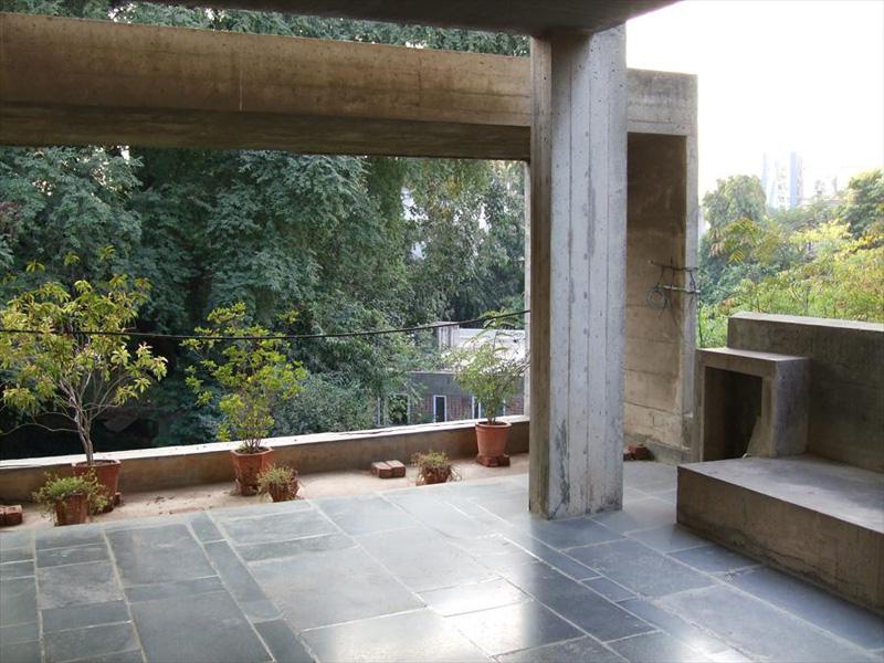 Ле Корбюзье / Le Corbusier. Вилла Shodhan, Ахмедабад, Индия. 1951