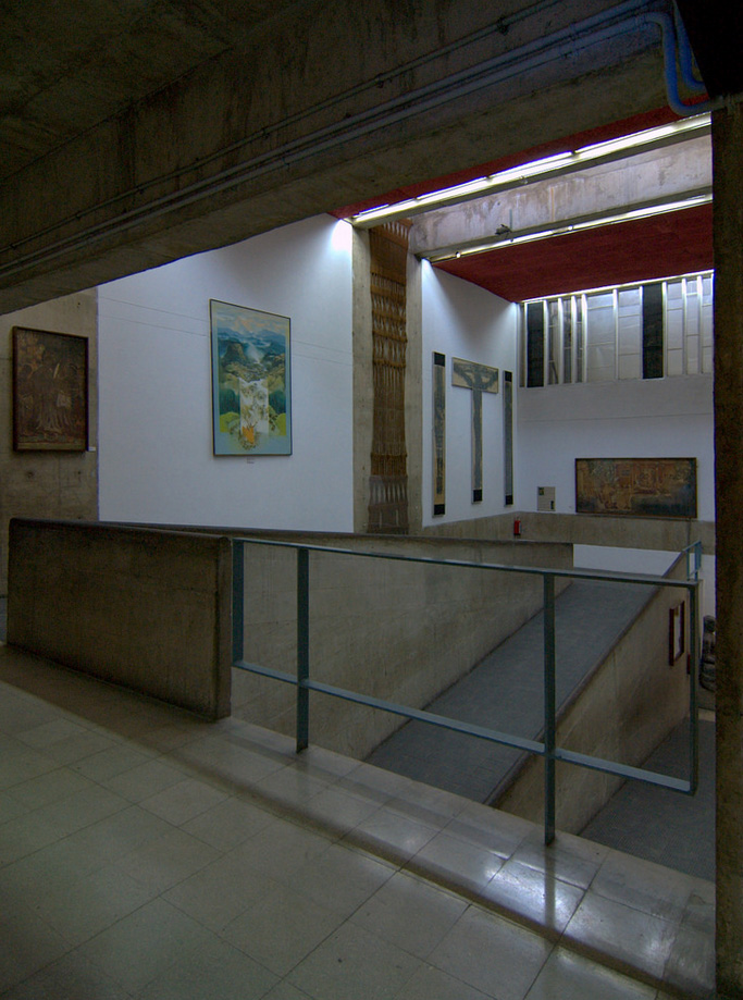 Ле Корбюзье / Le Corbusier. Музей и галерея искусств (Museum and Gallery of Art), Чандигарх (Chandigarh), Индия. 1952