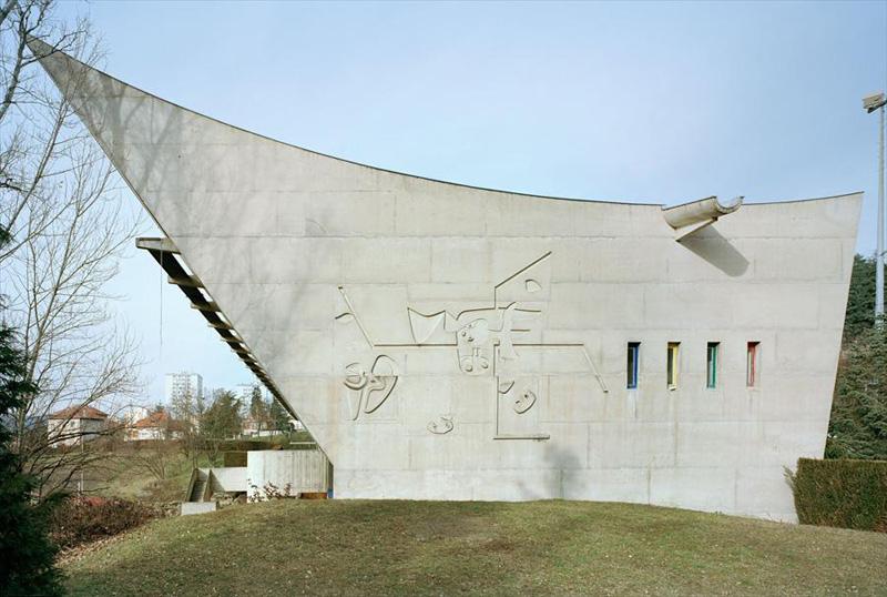 Maison de la culture de firminy vert 1956 19 - Maison de la culture de firminy vert ...