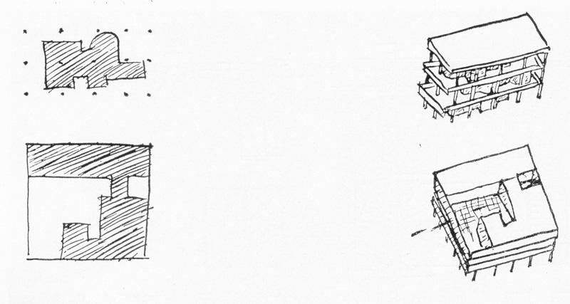 Ле Корбюзье / Le Corbusier. Композиционные схемы дома в Штутгарте и виллы «Савой»