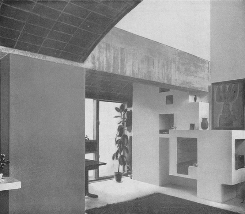 Ле Корбюзье / Le Corbusier. Дома Jaoul, Neuilly-sur-Seine, Франция. 1951-1960