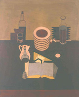 Ле Корбюзье / Le Corbusier, Nature morte à l'oeuf, 1919