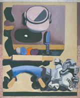 Ле Корбюзье / Le Corbusier, Nature morte au hachoir, 1928