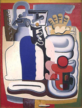 Ле Корбюзье / Le Corbusier, Nature morte au siphon, 1928