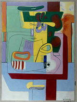 Ле Корбюзье / Le Corbusier, Nature morte Vézelay, 1939
