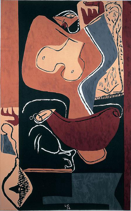 Ле Корбюзье / Le Corbusier, Danseuse, 1963
