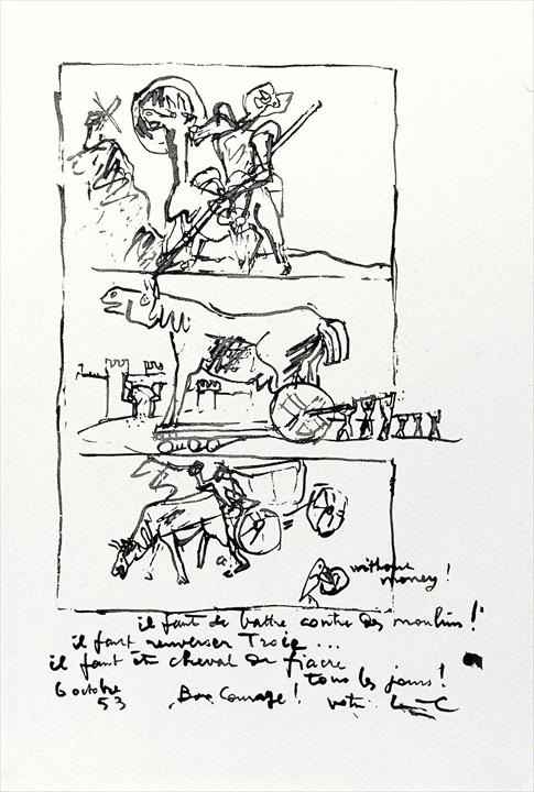 Ле Корбюзье / Le Corbusier, Don Quichotte, 1953