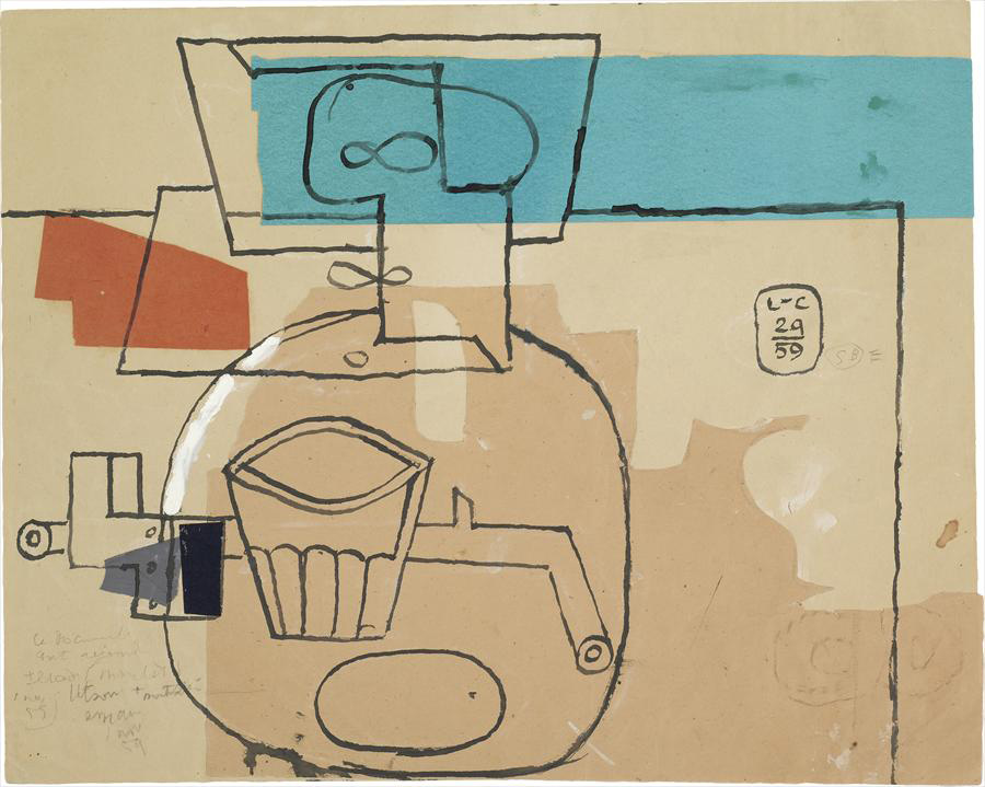 Ле Корбюзье / Le Corbusier, Nature morte, 1959
