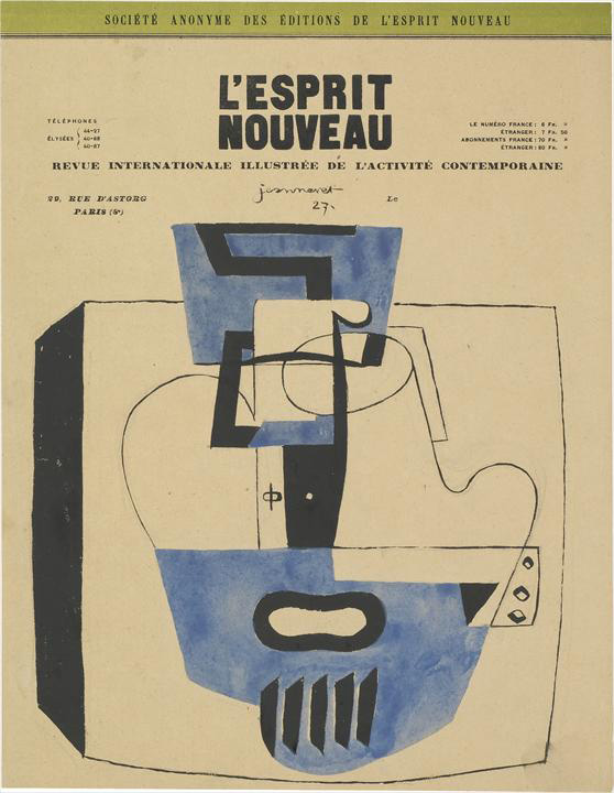 Ле Корбюзье / Le Corbusier, Nature morte (étude), 1927
