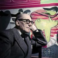 Ле Корбюзье. Фотограф: Willy Rizzo. 1953