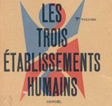 """«Три формы расселения», Ле Корбюзье / """"Les Trois établissements humains"""", Le Corbusier. 1945"""